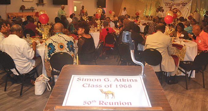 Older alumni of Atkins High celebrate history