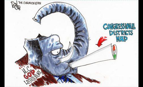Editorial Cartoon: Maps ruling
