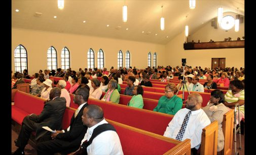 Historic church celebrates homecoming