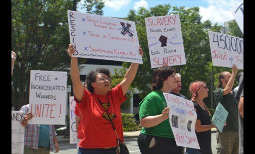 Locals join nationwide prison strike