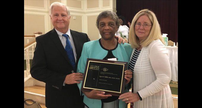 Lewisville town clerk gets state honor