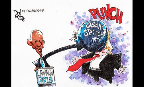 Editorial Cartoon: Obama Speech