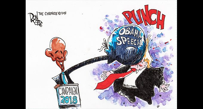 Editorial Cartoon: Obama Speech