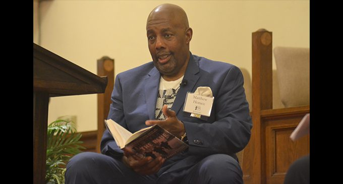 Author, police chief discuss policing, accountability