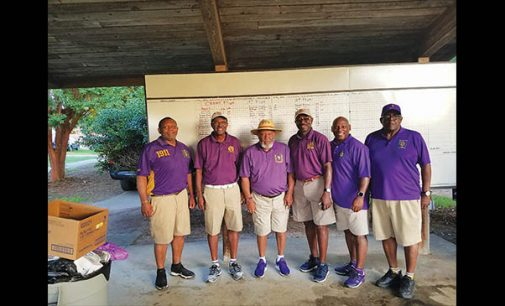 Fraternity hosts 2nd annual scholarship  golf tournament