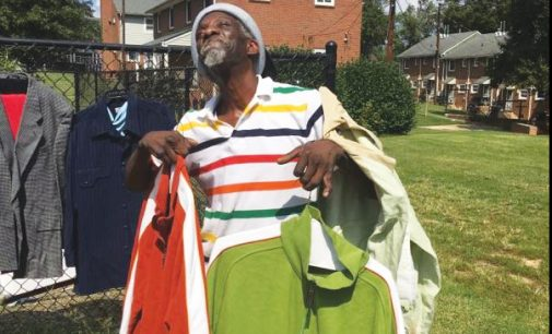 Clothing giveaway helps less fortunate