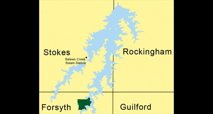 belews creek lake map County May Buy Land At Belews Lake For Future Park Ws Chronicle belews creek lake map