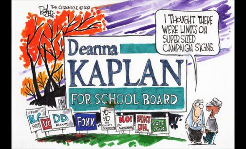 Editorial Cartoon: Sign limits