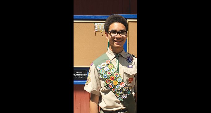 Harrison Tate McKinley Goode Earns Eagle Award