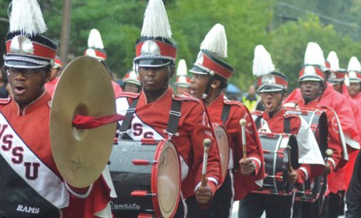 Despite rain, hundreds attend WSSU Homecoming Parade