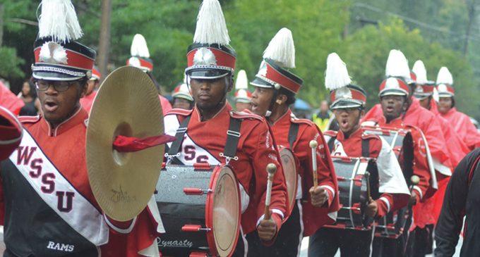 Despite rain, hundreds attend WSSU Homecoming Parade