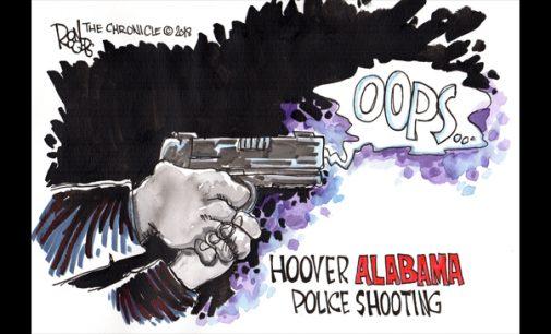 Editorial Cartoon: Oops