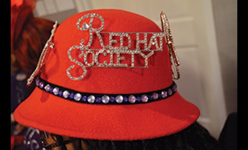 Red Hats Society members converge on W-S