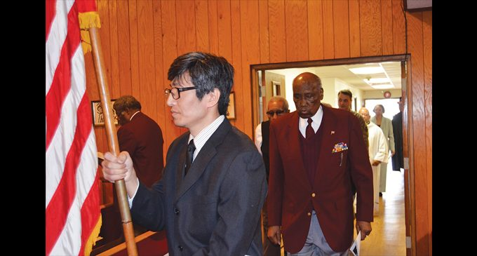 Church honors military on Veterans Day