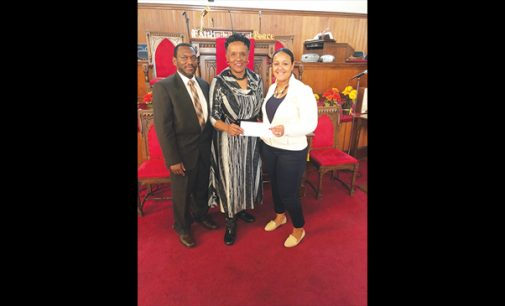 Sunday School Union donates to LEAD Girls of NC