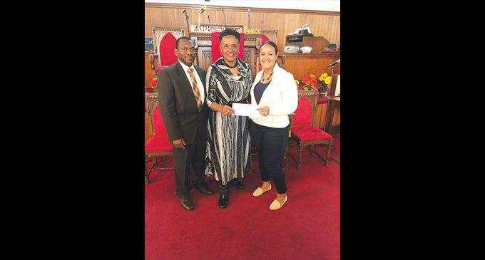 Sunday School Union donates to LEAD Girls of NC
