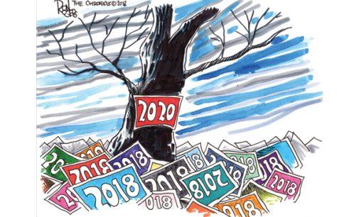 Editorial Cartoon: 2020