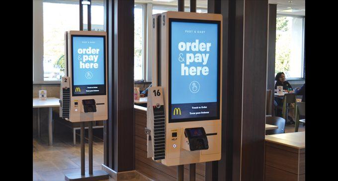 E. Winston McDonald's turns techy