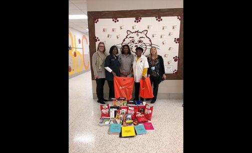 School receives donation