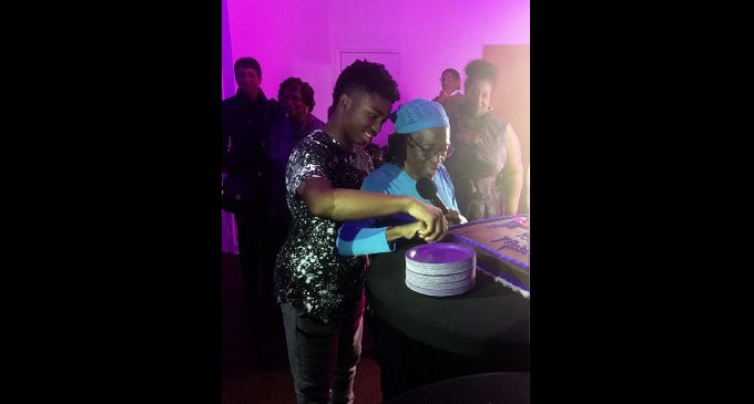 Mabel Robinson feted at surprise 80th birthday party