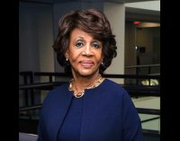 California Congress woman Maxine Waters makes history