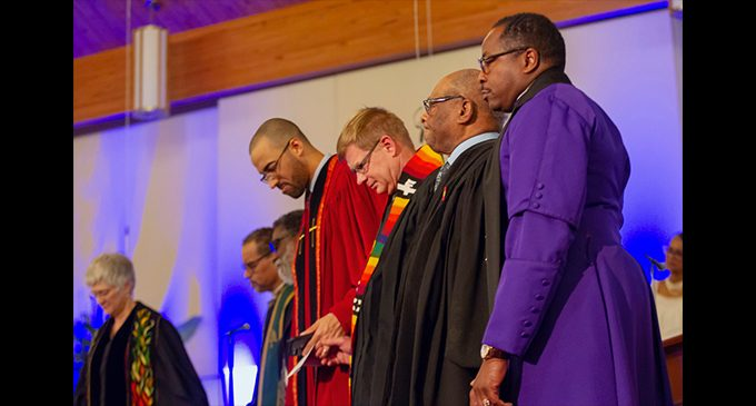 Ministers' Conference holds installation service