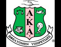 Phi Omega celebrates AKA Founders' Day
