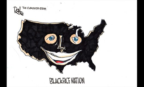 Editorial Cartoon: Black Face Nation
