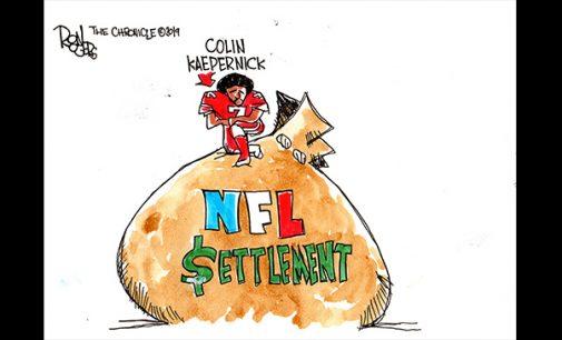 Editorial Cartoon: Kapernick Settlement