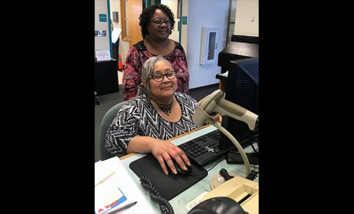 Love of books led to library career for Charlene Edwards