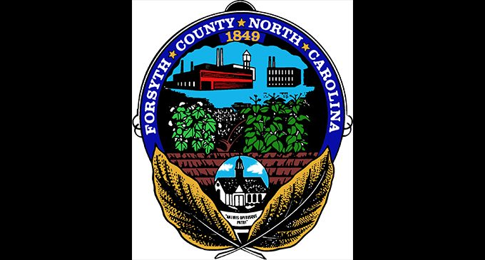 Forsyth County's seal was designed by Carver student in 1949
