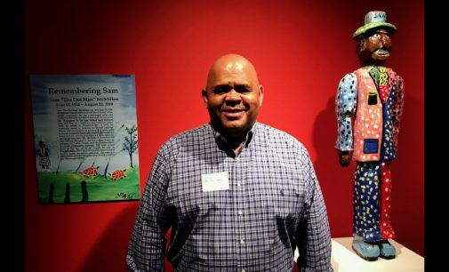 "Exhibit by late artist Sam ""The Dot Man"" McMillan opens at SECCA"