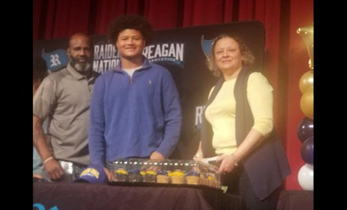 Reagan's Hicks signs with Mars Hill University