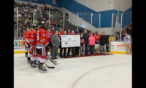 Local business owner donates funds for hockey program in WS/FC Schools