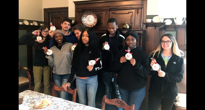 Street School honor roll students honored at luncheon