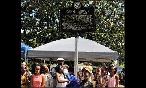 City unveils marker for unsung local music group