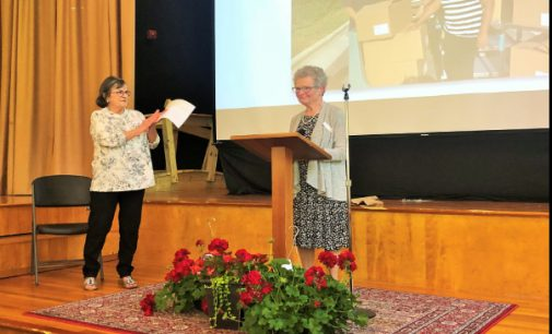 Samaritan Ministries recognizes Emily Seawell with 2nd annual Volunteer Award