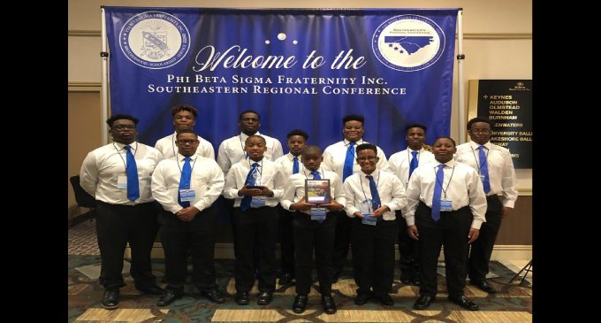 Sigma Betas Club excels at Regional Leadership Conference