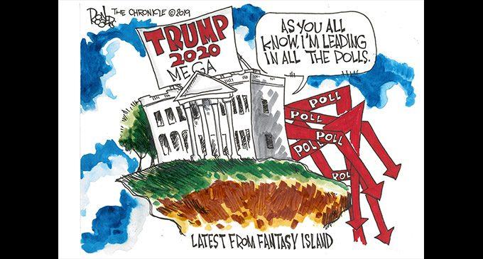 Editorial Cartoon: Trump Polling