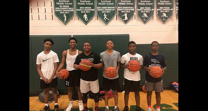 Training camp prepares kids for basketball season