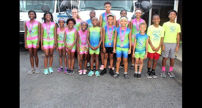 Track club shines at national meet