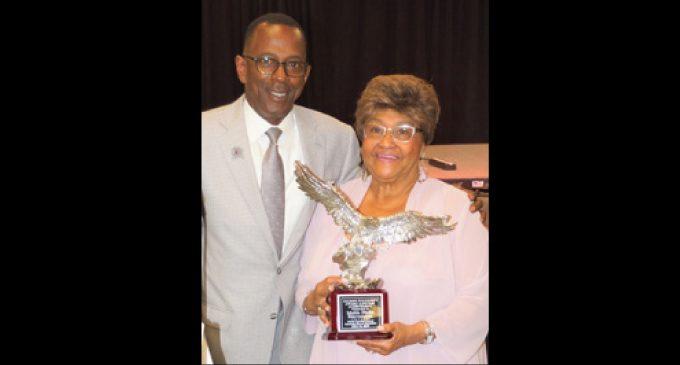 Mable Stevenson receives North Carolina Central University alumni Founder's Award