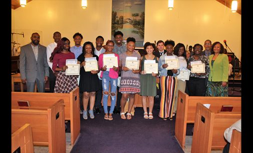 Ministers' Conference holds annual scholarship service