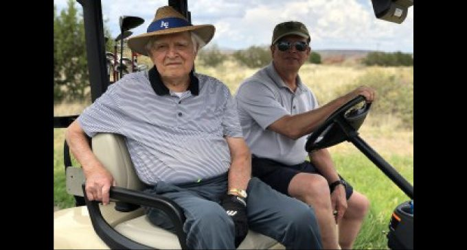 Rivalry renewed once again for 100-year-old golfers