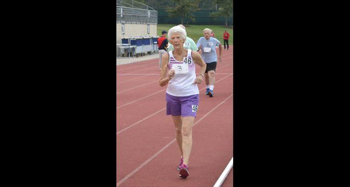 Betty Allgood-Hayes senior games medalist