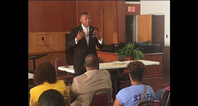 Sheriff Kimbrough delivers powerful message to Ministers' Conference