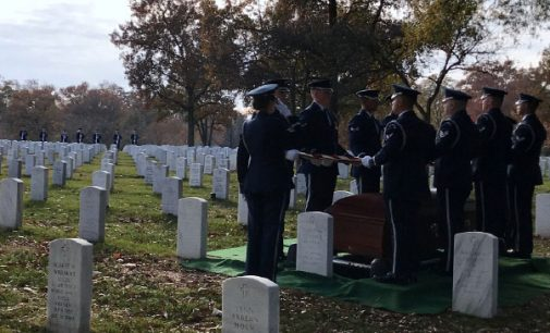 Honoring the final wishes of a military  veteran at Arlington National Cemetery