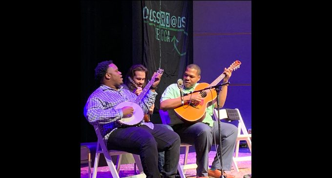 Jontavious Willis and Jerron 'Blind Boy' Paxton sing the blues in concert at SECCA