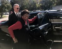 Shepherd's Center's client rides in style to mark 47,000th trip provided by volunteers