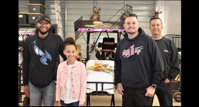 Youth female kart driver continues to impress
